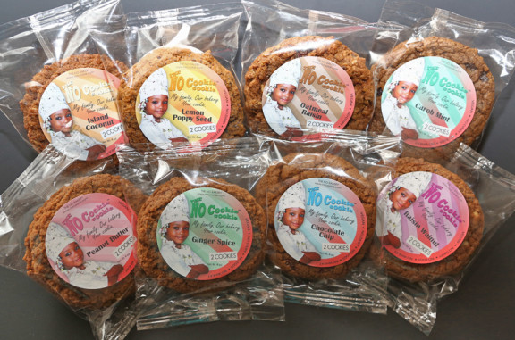 8 different flavors of vegan cookies. Try them all!